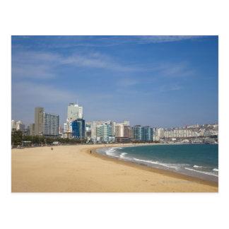 Korea, Gyeongsangnam-do, Busan, Haeundae beach Post Cards