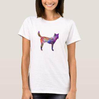 Korea Jindo Dog in watercolor T-Shirt