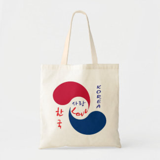 Korea Love Canvas Tote