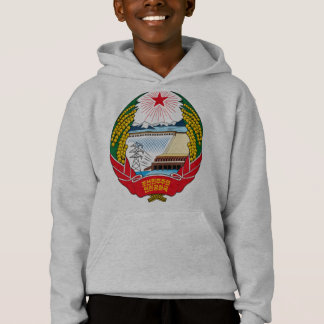 korea north emblem hoodie