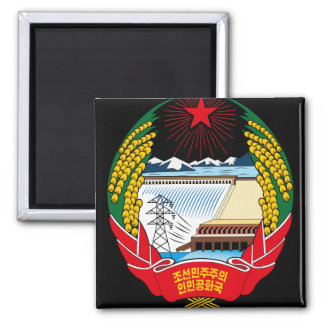 korea north emblem magnet