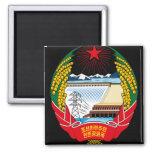 korea north emblem refrigerator magnet