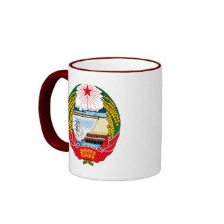 korea north emblem ringer mug