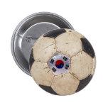 Korea Republic Football Pinback Button