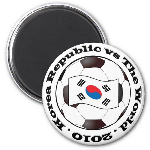Korea Republic vs The World Magnet