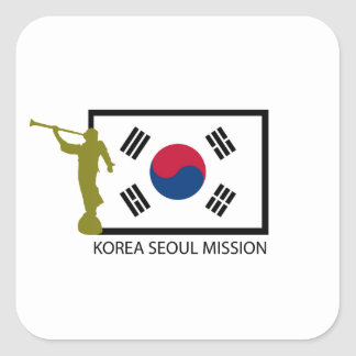 KOREA SEOUL MISSION LDS CTR STICKERS