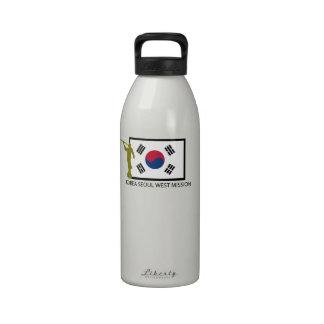 KOREA SEOUL WEST MISSION LDS CTR REUSABLE WATER BOTTLE