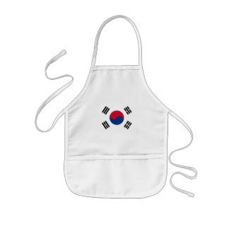 korea south kids' apron