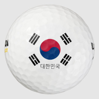 korea south golf balls