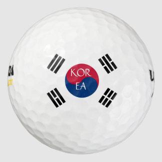 korea south golf balls