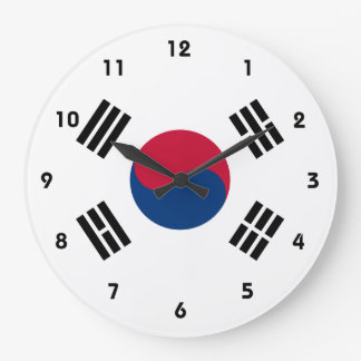 korea south large clock