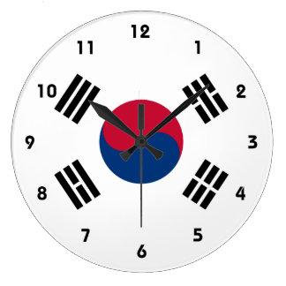 korea south large clock