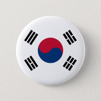 korea south pinback button