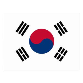 korea south postcard