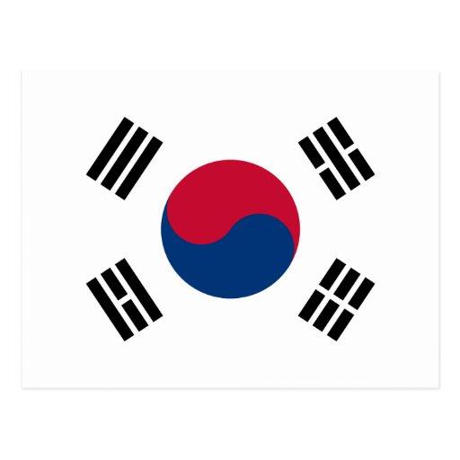 korea south postcards