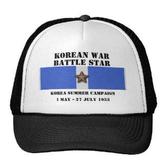 Korea Summer 1953 Campaign Trucker Hat