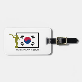 KOREA TAEJON MISSION LDS CTR TRAVEL BAG TAG