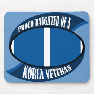 Korea Vet Daughter Mouse Pad