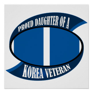 Korea Vet Daughter Poster