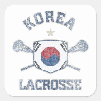 Korea-Vintage Square Sticker