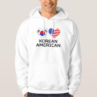 Korean American Hearts Hoodie