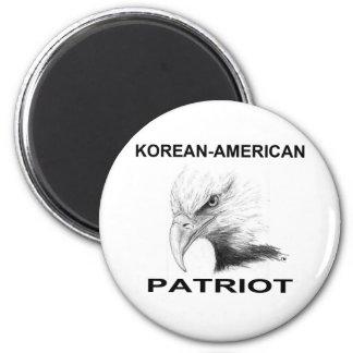 Korean-American Patriot Magnet