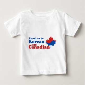 Korean And Canadian Baby T-Shirt
