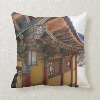 Korean architecture pillow