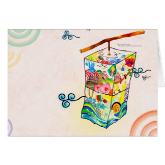 Korean art and culture card