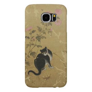 Korean art Jeong Seon-Chuil hanmyo Cat Samsung Galaxy S6 Case
