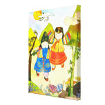 Korean Baby's First Birthday Wrapped Canvas(11x14) Canvas Print