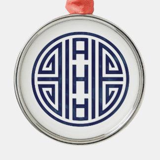 Korean Blue and White Ornament
