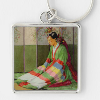 Korean Bride Keychain