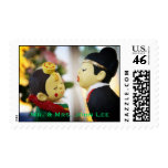 Korean couple stamp