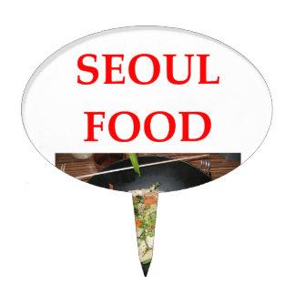 korean cuisine cake topper