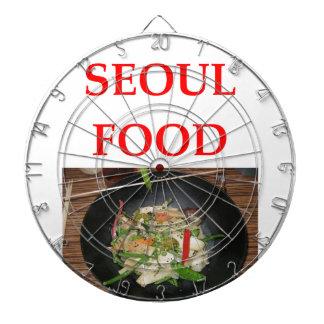 korean cuisine dart board