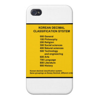 Korean Decimal System iPhone 4/4S Case
