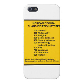 Korean Decimal System iPhone SE/5/5s Case