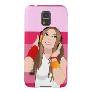 Korean dj girl for Samsung Case For Galaxy S5