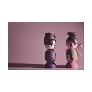 Korean Dolls Gallery Wrapped Canvas