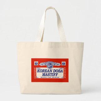 Korean Dosa Mastiff Canvas Bags