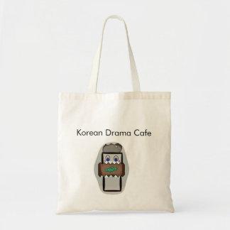 Korean Drama Cafe Bags