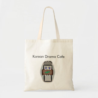 Korean Drama Cafe Tote Bag