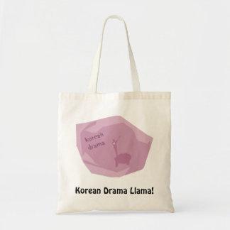 Korean Drama Llama! Tote Bag