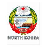 Korean Emblem Postcard