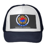 Korean Emblem Trucker Hat
