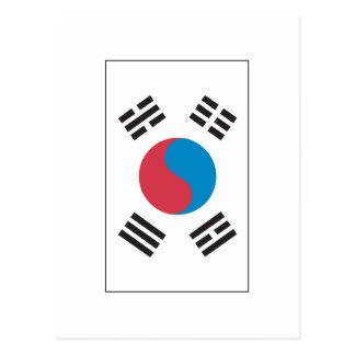 Korean Flag Postcard