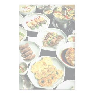 Korean food stationery