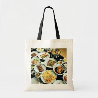 Korean food tote bag