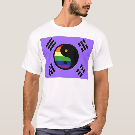 Korean GLBT Pride Flag T-Shirt